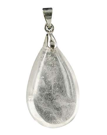 Bergkristal edelsteenhanger