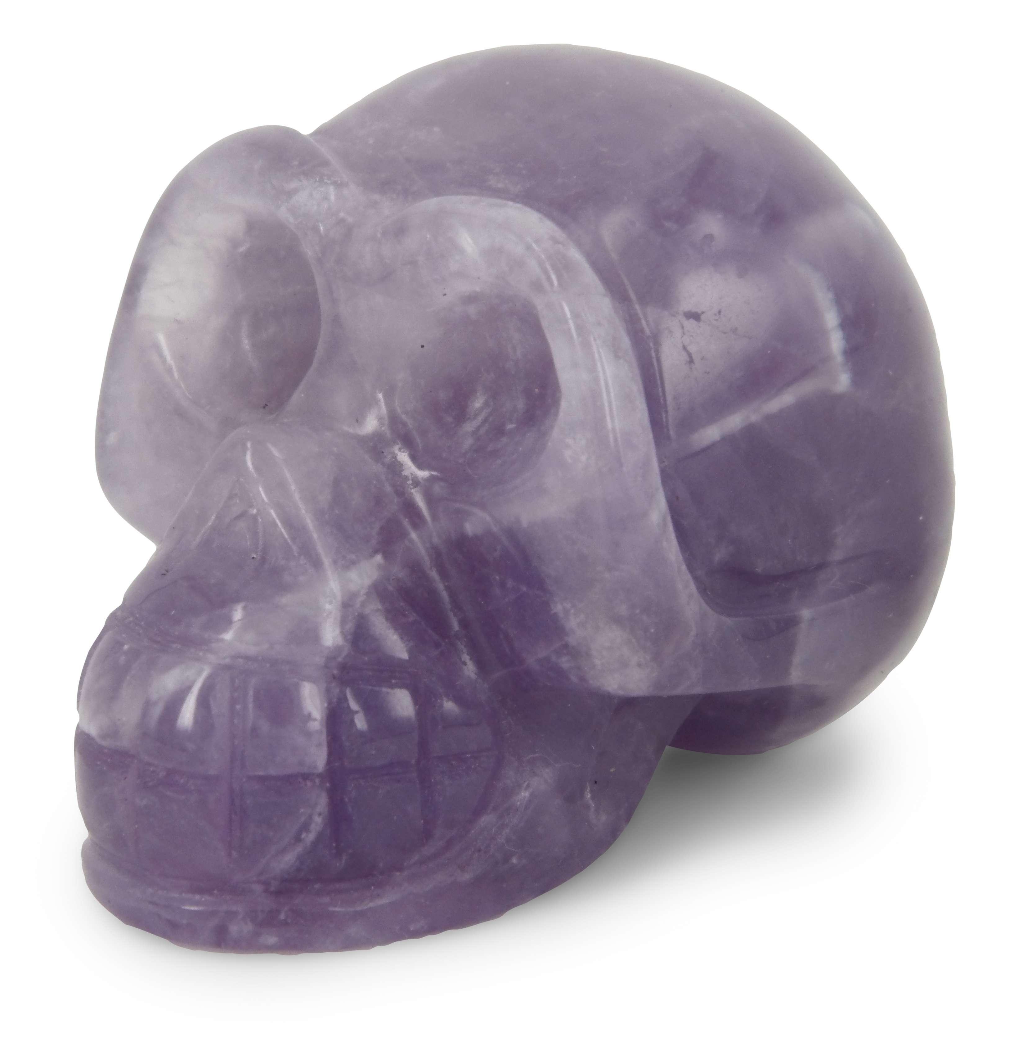 Amethist edelsteen schedels en nog vele andere soorten zijn te koop bij mineralenparadijs Ruben Robijn.